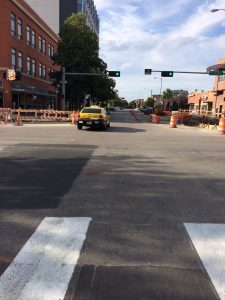 P Street intersection