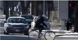 bike crossing street