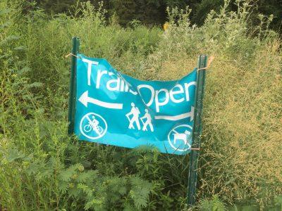 nature center trail banner
